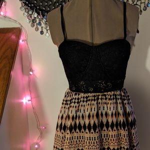 Lacy Patterned Dress